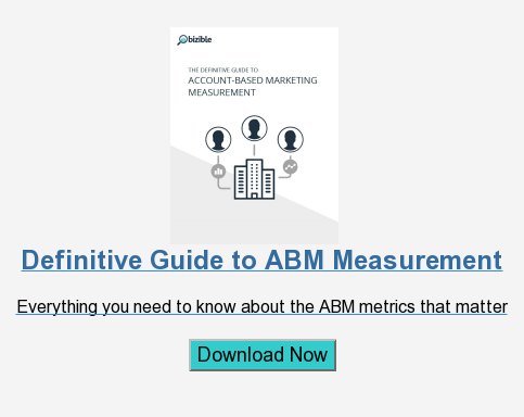 Definitive Guide to ABM Measurement  Everything you need to know about the ABM metrics that matter  Download Now