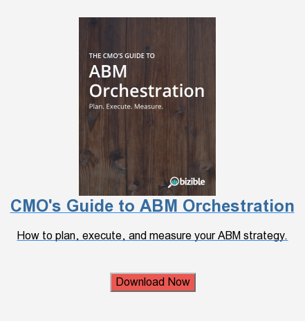 CMO's Guide to ABM Orchestration  How to plan, execute, and measure your ABM strategy.    Download Now