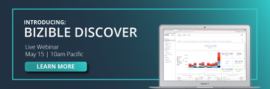 Meet the new Bizible Discover Join us for a live webinar on May 15 at 10 am  Pacific.  Register Now