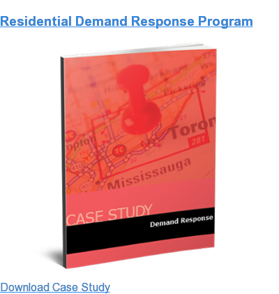 Residential Demand Response Program Download Case Study