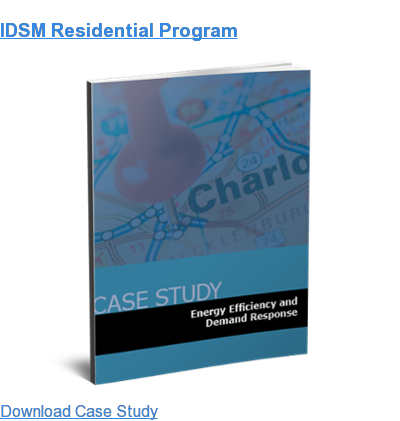 IDSM Residential Program Download Case Study
