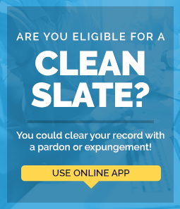 Learn if you're eligible for an expungement or pardon with our new eligibilty app.