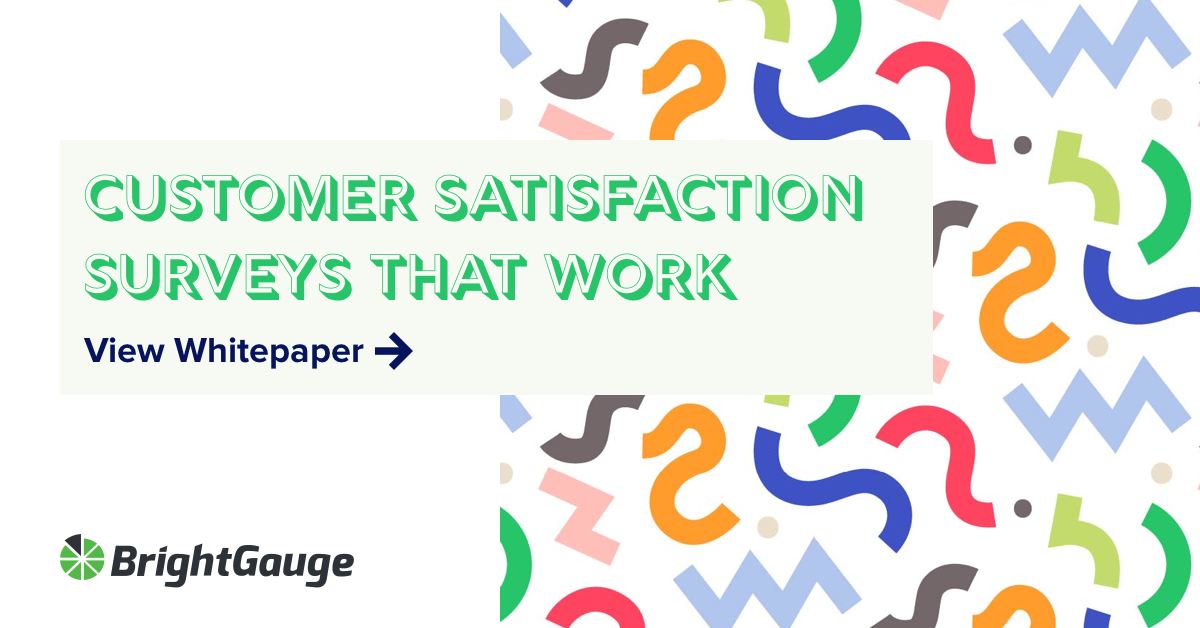 This whitepaper covers customer satisfaction surveys that get you results
