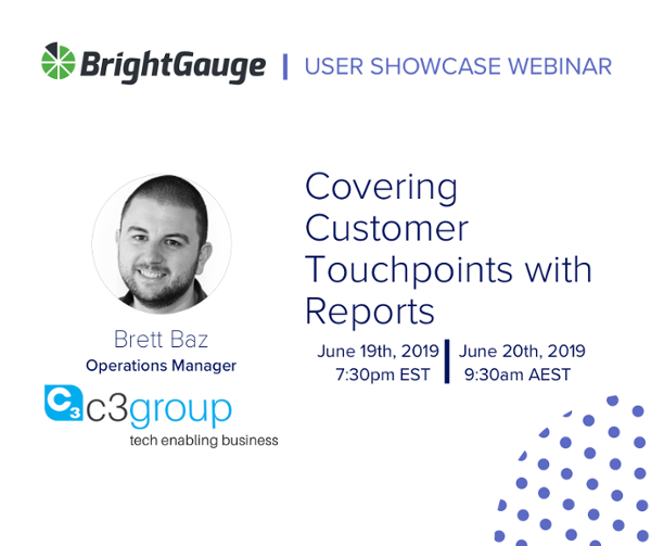 RSVP for our upcoming customer showcase webinar, all about BrightGauge reports