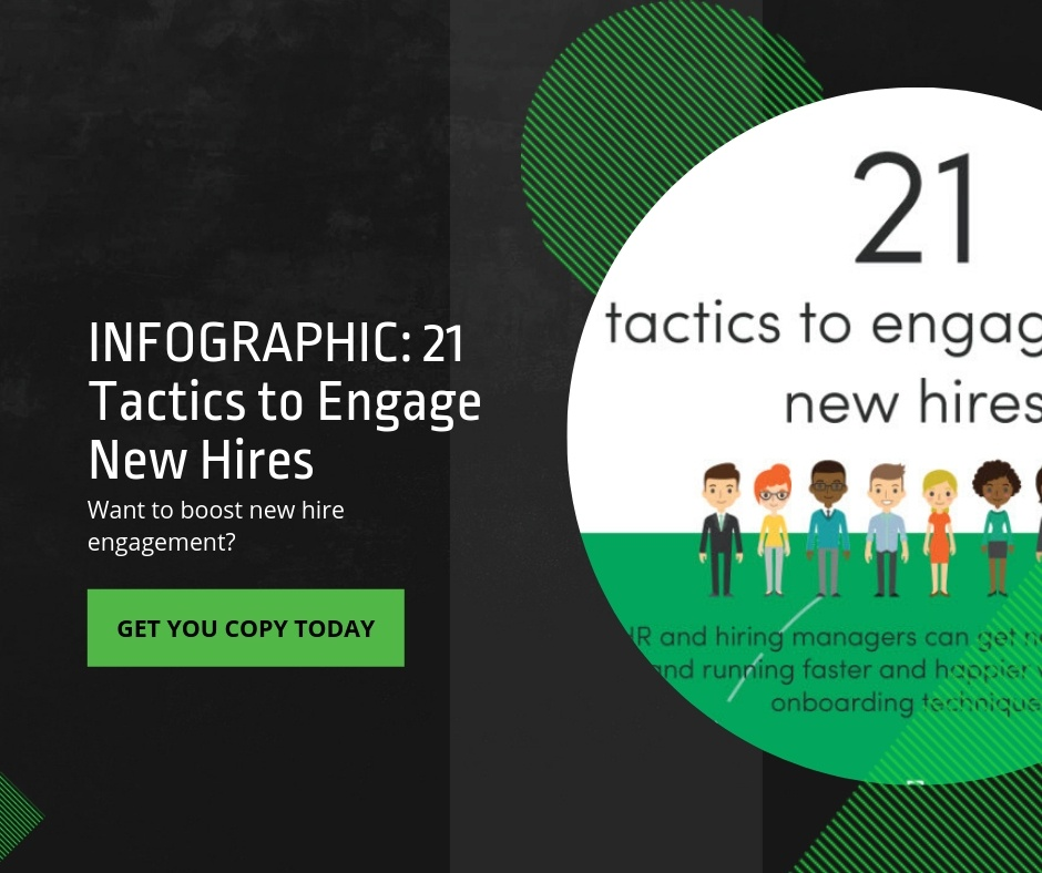 Get new hires started faster and happier with our new infographic!