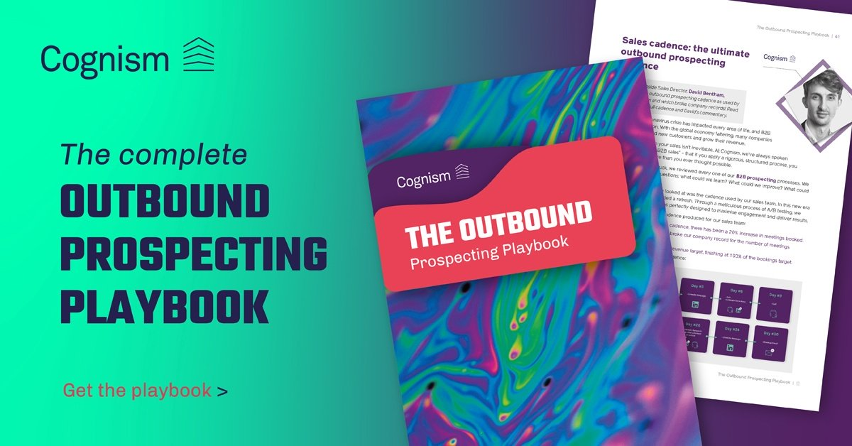 Cognism Outbound Prospecting Playbook
