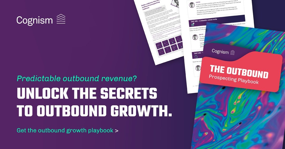 Outbound Prospecting Playbook