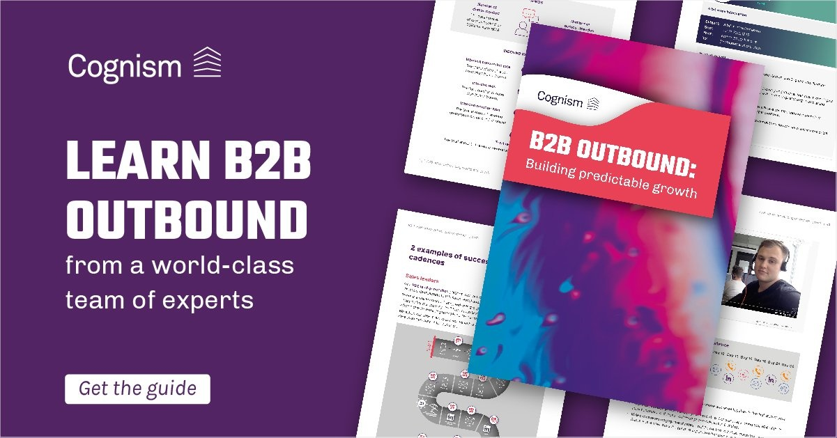 B2B Outbound Building Predictable Growth