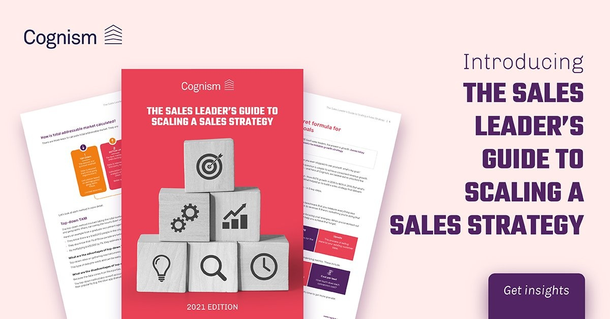 Sales Leader's Guide Scaling Sales Strategy