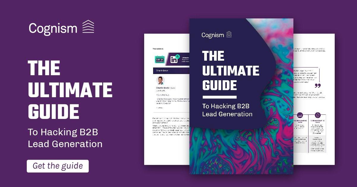 Hacking B2B Lead Generation eBook