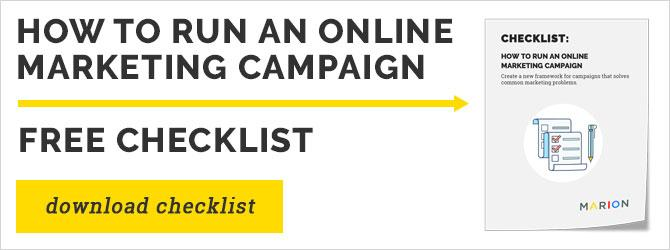 how to run an online marketing campaign