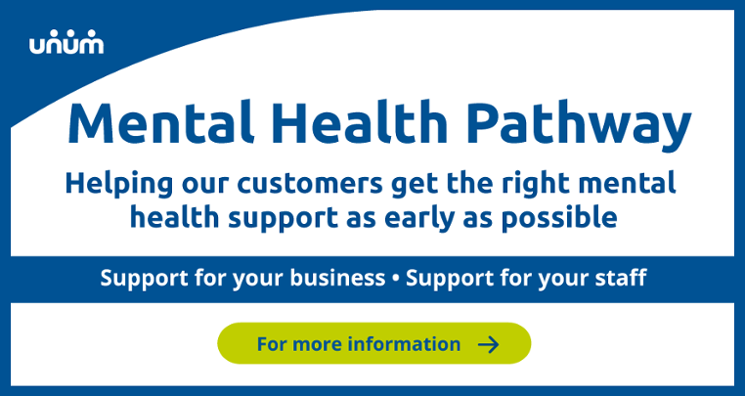 Mental Health Pathway for existing Unum customers