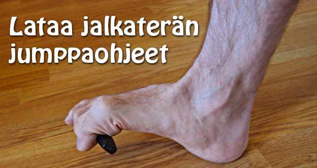 Lataa jalkaterän jumppaohjeet