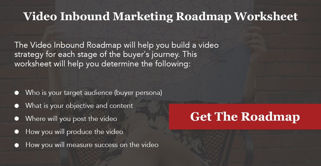 Video Inbound Marketing Roadmap Worksheet
