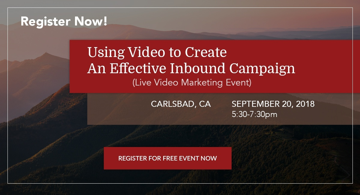 Using Video to Create an Effective Inbound Campaign