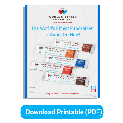 Fundraising Poster: $1 Product