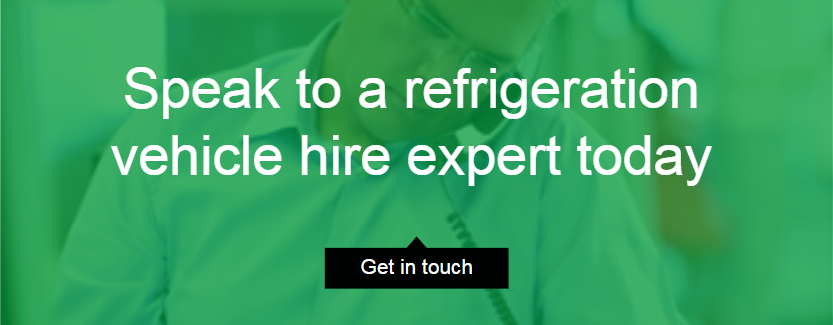 Speak to a refrigeration vehicle hire expert today