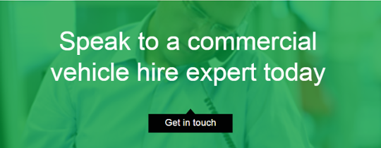 Speak to a commercial vehicle hire expert today