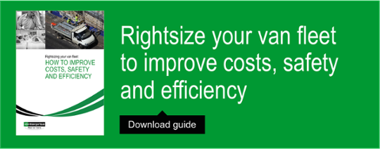 Rightsize your van fleet to improve costs safety and efficiency