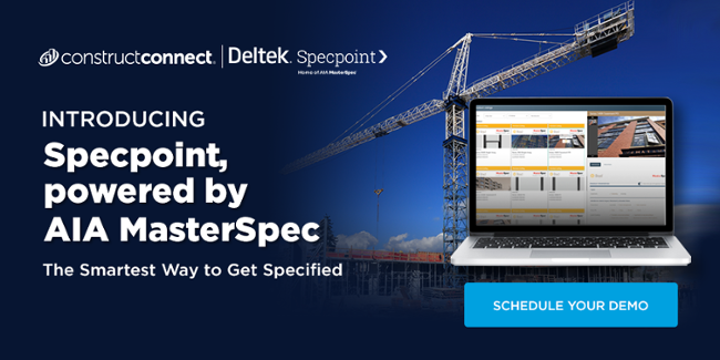 Specpoint, powered by AIA MasterSpec