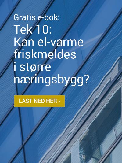 Last ned gratis e-bok: Tek 10: Kan el-varme friskmeldes