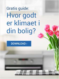 Gratis guide hvor godt er klimaet i din bolig?