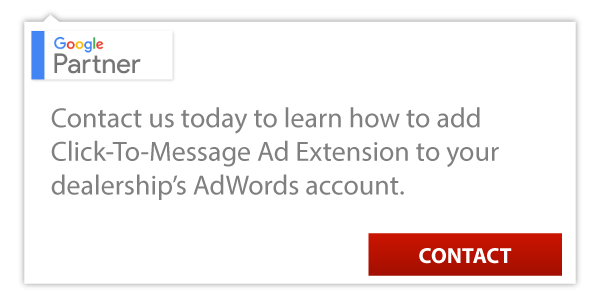 Click-to-Message Car Dealer Adwords