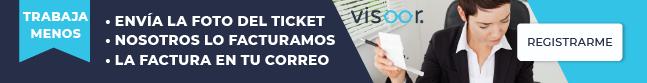 visoor facturacion de tickets