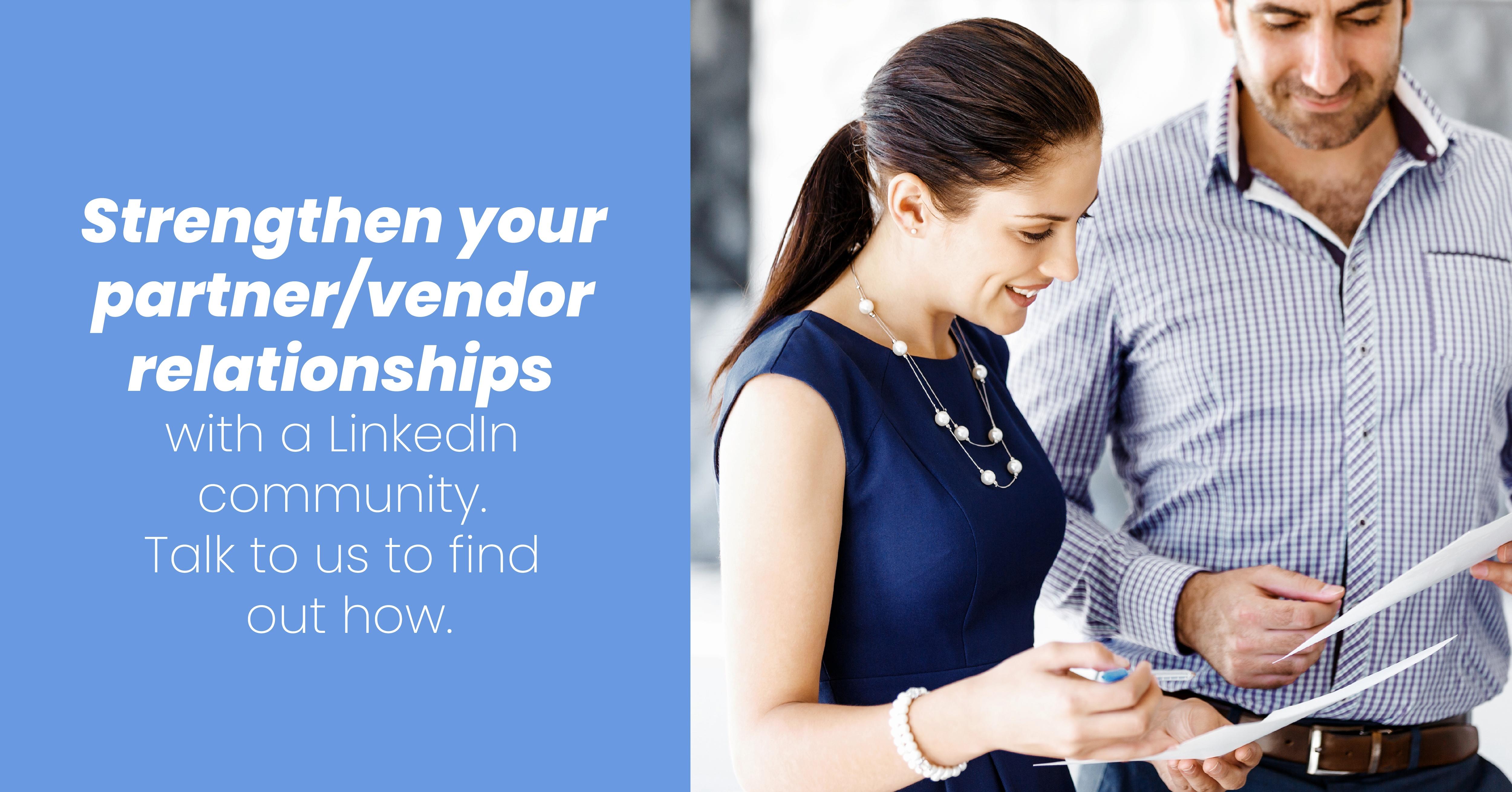 LinkedIn Community Ad