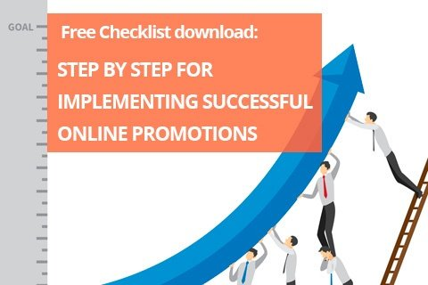 Download for free this Checklist for implementing promotions successfully