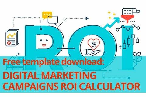 Download the Digital Marketing Campaigns ROI Calculator Template