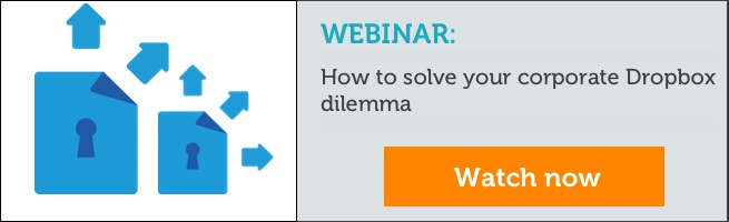 Webinar: How to solve your corporate Dropbox dilemma