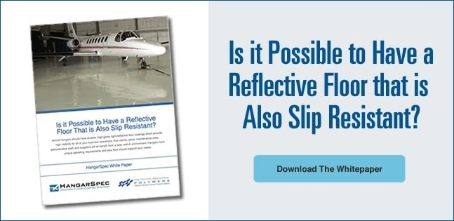 Is it possible to have a reflective floor that is also slip resistant?  Download the Free Whitepaper
