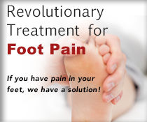 Treatment for foot pain