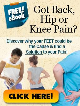 Free eBook to discover why your feet could be causing pain