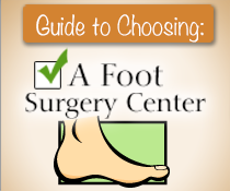 Choosing a Foot surgery guide