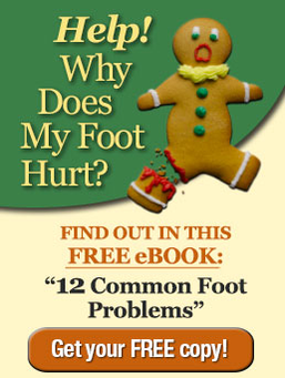 Why does my foot hurt? Click to get your free eBook