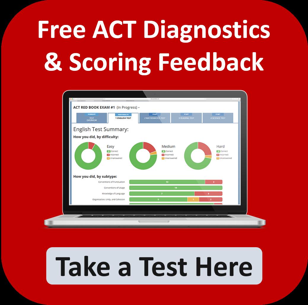 Free ACT Diagnostics & Scoring Feedback: Take a Test Here.