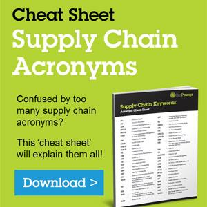 Supply Chain Acronym Cheat Sheet