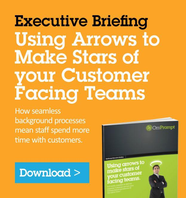 Using Arrows to Make Stars of your Customer Facing Teams