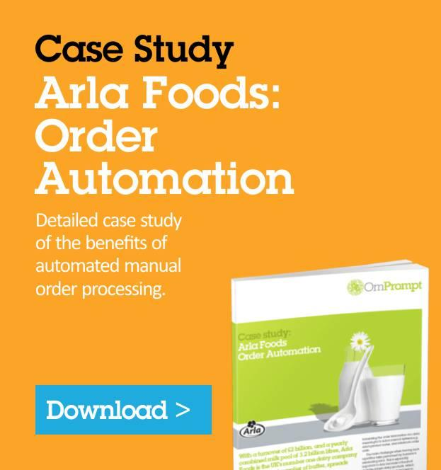 Arla Foods: Order Automation
