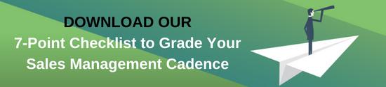Sales Management Cadence CTA