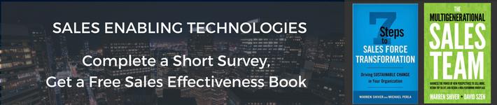 Sales Technology Survey