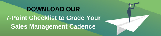 Sales Management Cadence CTA