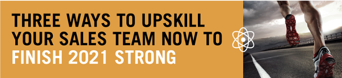 Three ways to upskill your sales team