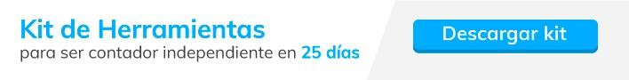 Contador independiente en 25 días
