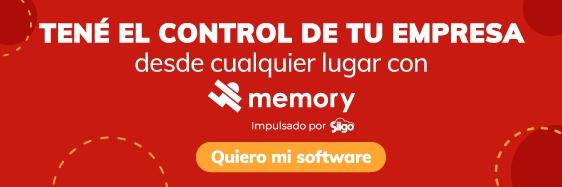 <<Ten el control de tu empresa desde cualquier lugar con Memory. ¡Cotiza tu  software!>>