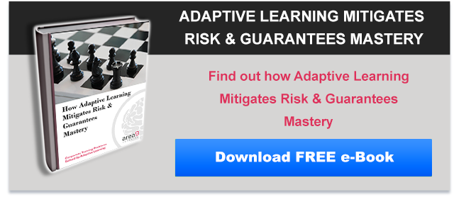 How Adaptive Learning Mitigates Risk