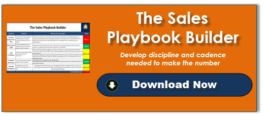 The Sales Playbook Builder