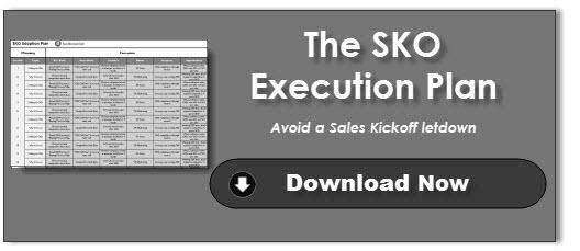 SKO Execution Plan